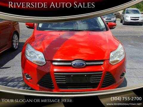 2013 Ford Focus for sale at Riverside Auto Sales in Saint Albans WV