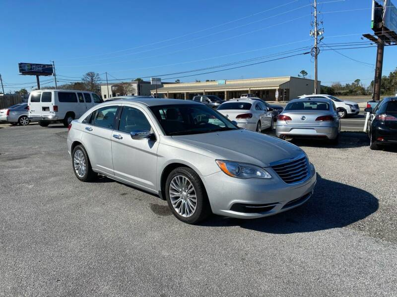 2012 Chrysler 200 for sale at Lucky Motors in Panama City FL