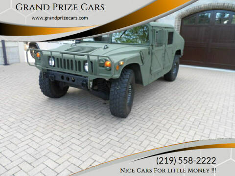 1986 HUMMER H1 for sale at Grand Prize Cars in Cedar Lake IN