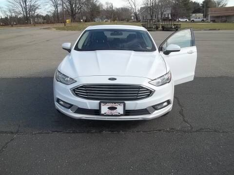 2017 Ford Fusion for sale at Gilliam Motors Inc in Dillwyn VA
