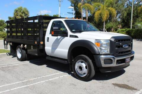 2014 Ford F-450 Super Duty for sale at Truck and Van Outlet in Miami FL