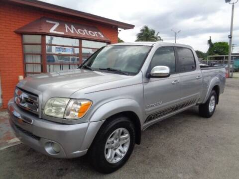 2006 Toyota Tundra for sale at Z MOTORS INC in Fort Lauderdale FL