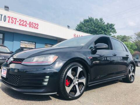 2015 Volkswagen Golf GTI for sale at Trimax Auto Group in Norfolk VA