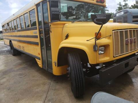1998 GMC BLUEBIRD for sale at Interstate Bus Sales Inc. in Wallisville TX