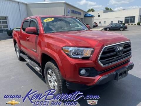 2018 Toyota Tacoma for sale at KEN BARRETT CHEVROLET CADILLAC in Batavia NY