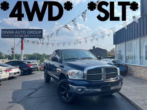 2008 Dodge Ram Pickup 1500 for sale at Divan Auto Group in Feasterville Trevose PA