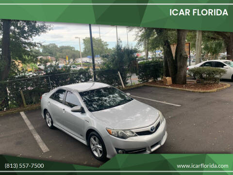 2014 Toyota Camry Hybrid for sale at ICar Florida in Lutz FL