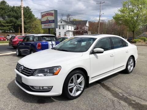 2014 Volkswagen Passat for sale at Beachside Motors, Inc. in Ludlow MA