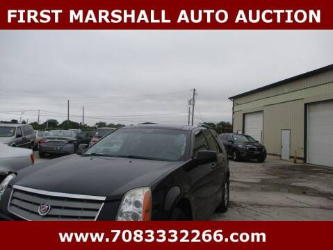 2008 Cadillac SRX for sale at First Marshall Auto Auction in Harvey IL