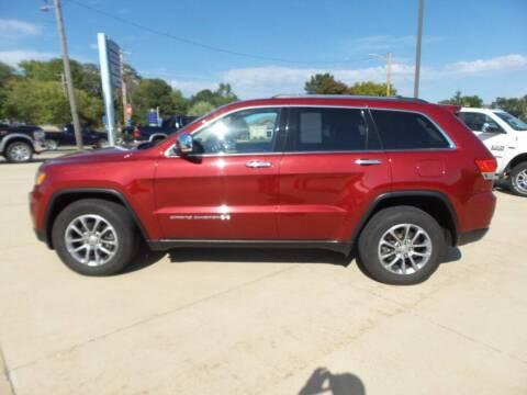 2015 Jeep Grand Cherokee for sale at WAYNE HALL CHRYSLER JEEP DODGE in Anamosa IA