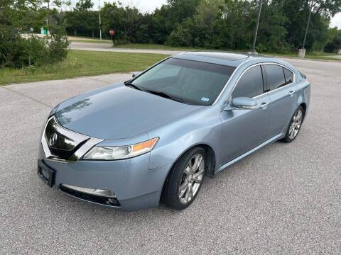 2011 Acura TL for sale at Central Motor Company in Austin TX
