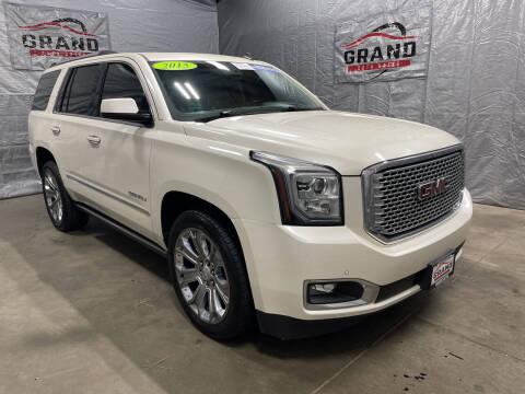 2015 GMC Yukon for sale at GRAND AUTO SALES in Grand Island NE