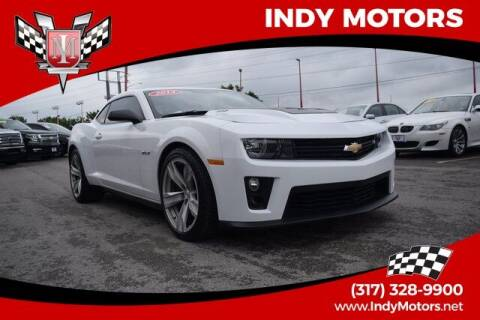 2013 Chevrolet Camaro for sale at Indy Motors Inc in Indianapolis IN