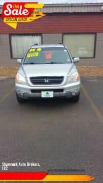 2004 Honda Pilot for sale at Shamrock Auto Brokers, LLC in Belmont NH
