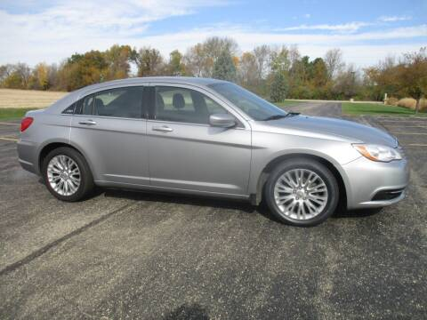 2013 Chrysler 200 for sale at Crossroads Used Cars Inc. in Tremont IL
