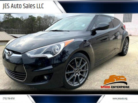 2012 Hyundai Veloster for sale at JES Auto Sales LLC in Fairburn GA