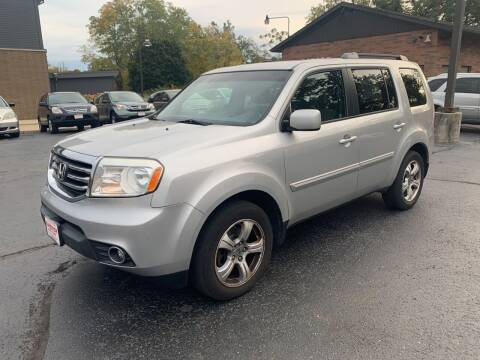 2012 Honda Pilot for sale at Superior Used Cars Inc in Cuyahoga Falls OH