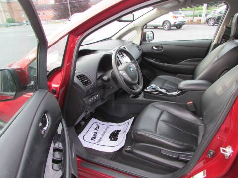 2015 Nissan LEAF for sale at Brubakers Auto Sales in Myerstown PA