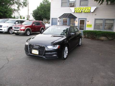 2014 Audi A4 for sale at Loudoun Used Cars in Leesburg VA