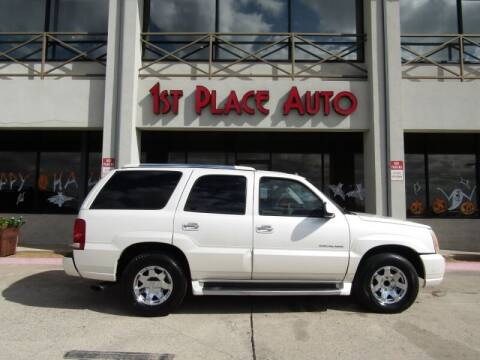 2004 Cadillac Escalade for sale at First Place Auto Ctr Inc in Watauga TX