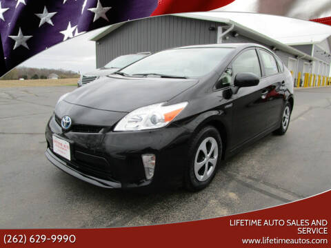 2013 Toyota Prius for sale at Lifetime Auto Sales and Service in West Bend WI