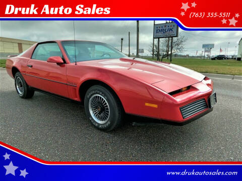 1984 Pontiac Firebird for sale at Druk Auto Sales in Ramsey MN