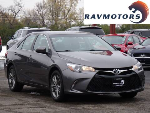 2017 Toyota Camry for sale at RAVMOTORS in Burnsville MN