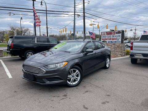 2018 Ford Fusion for sale at L.A. Trading Co. Woodhaven in Woodhaven MI