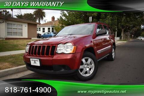 2010 Jeep Grand Cherokee for sale at Prestige Auto Sports Inc in North Hollywood CA