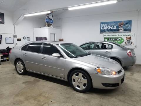 2006 Chevrolet Impala for sale at McMinnville Auto Sales LLC in Mcminnville OR