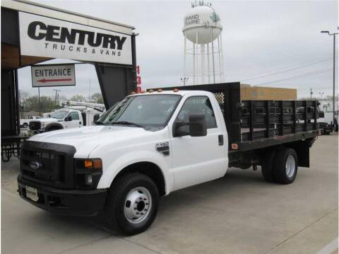 2009 Ford F-350 Super Duty for sale at CENTURY TRUCKS & VANS in Grand Prairie TX