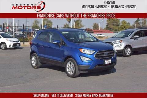 2018 Ford EcoSport for sale at Choice Motors in Merced CA