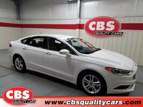 2018 Ford Fusion for sale at CBS Quality Cars in Durham NC