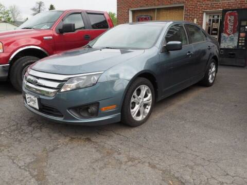 2012 Ford Fusion for sale at BUCKLEY'S AUTO in Romney WV