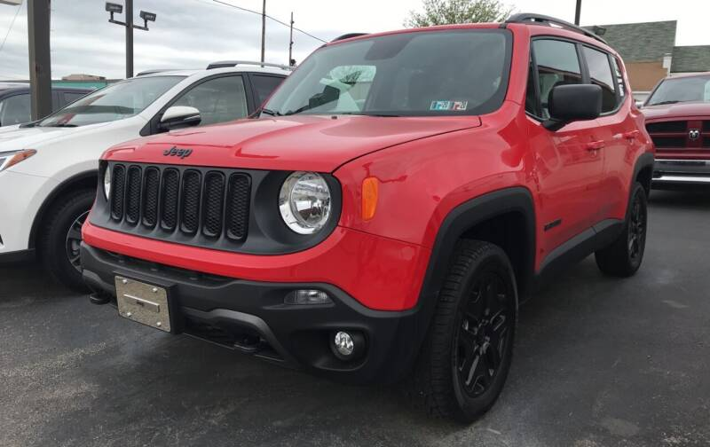 2018 Jeep Renegade for sale at Red Top Auto Sales in Scranton PA