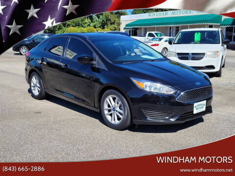 2018 Ford Focus for sale at Windham Motors in Florence SC