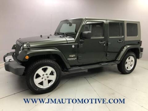 2010 Jeep Wrangler Unlimited for sale at J & M Automotive in Naugatuck CT