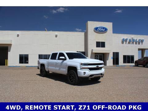 2018 Chevrolet Silverado 1500 for sale at STANLEY FORD ANDREWS in Andrews TX