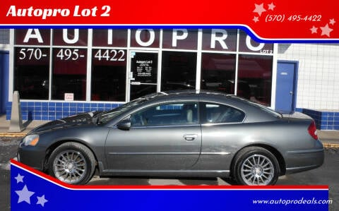 2005 Chrysler Sebring for sale at Autopro Lot 2 in Sunbury PA