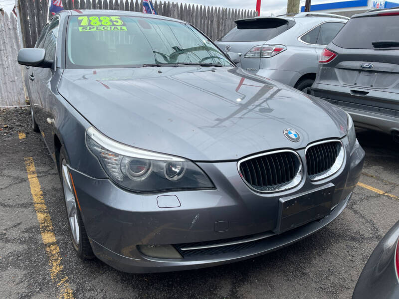 2008 BMW 5 Series for sale at GRAND USED CARS  INC in Little Ferry NJ