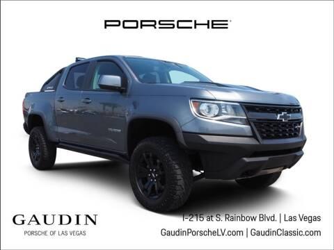 2020 Chevrolet Colorado for sale at Gaudin Porsche in Las Vegas NV
