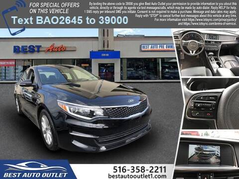 2018 Kia Optima for sale at Best Auto Outlet in Floral Park NY