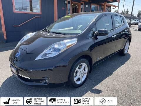 2013 Nissan LEAF for sale at Sabeti Motors in Tacoma WA