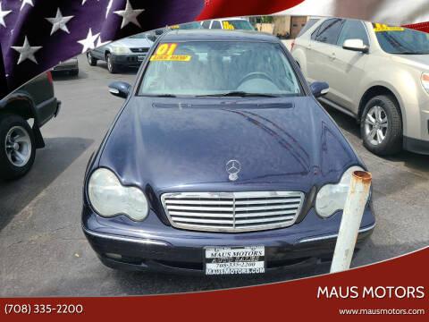 2001 Mercedes-Benz C-Class for sale at MAUS MOTORS in Hazel Crest IL