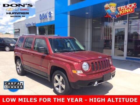 2016 Jeep Patriot for sale at DON'S CHEVY, BUICK-GMC & CADILLAC in Wauseon OH