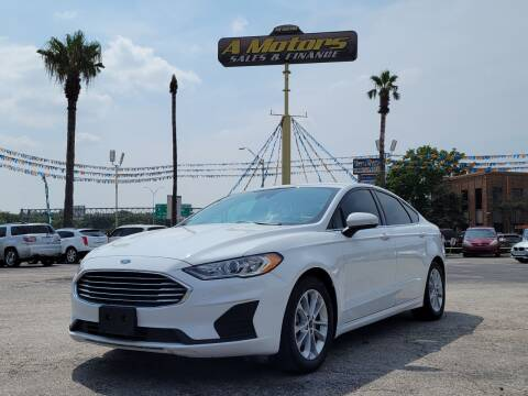 2019 Ford Fusion for sale at A MOTORS SALES AND FINANCE in San Antonio TX