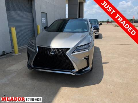 2019 Lexus RX 350 for sale at Meador Dodge Chrysler Jeep RAM in Fort Worth TX