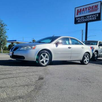 2008 Pontiac G6 for sale at Hayden Cars in Coeur D Alene ID