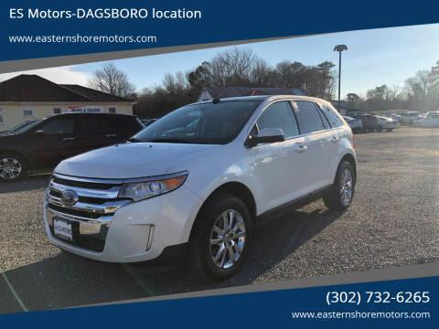 2011 Ford Edge for sale at ES Motors-DAGSBORO location in Dagsboro DE