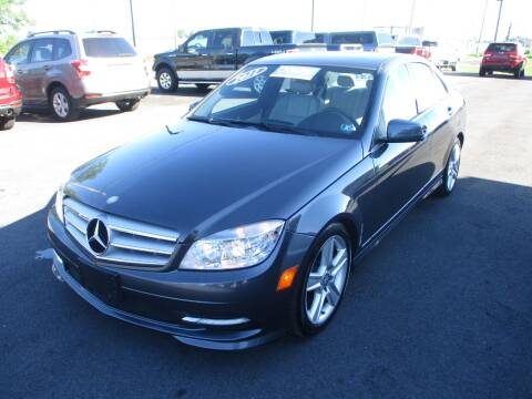 2011 Mercedes-Benz C-Class for sale at FINAL DRIVE AUTO SALES INC in Shippensburg PA